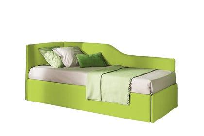 Letto Giove Estraibile Dx Colore Alessia 34 Verde 90x200 Outlet
